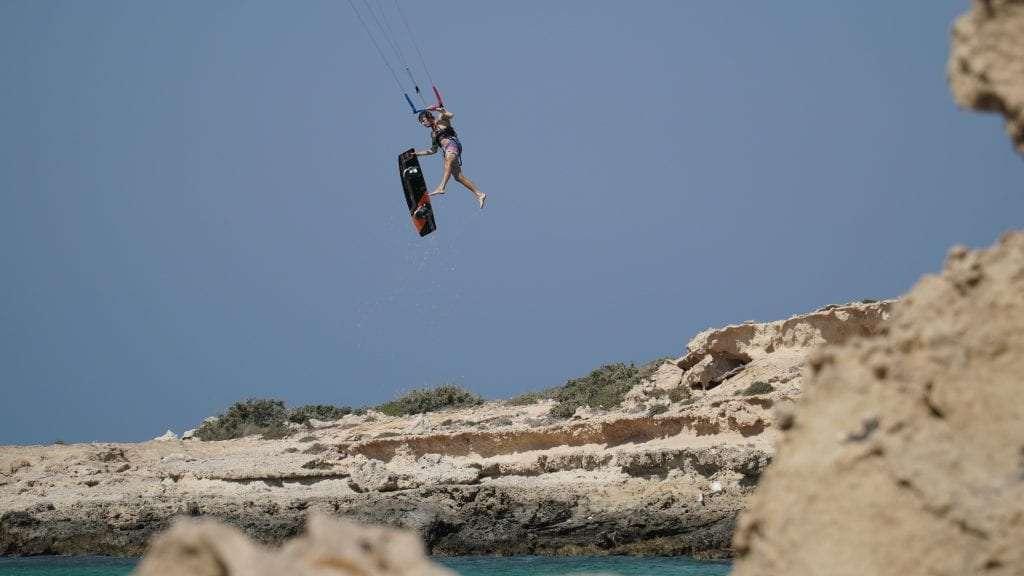 Kitesurfing destination in Egypt
